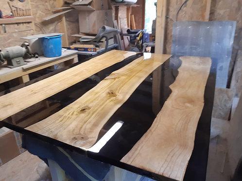 2 Plots pour fabrication de river table.