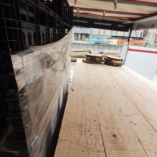 Planches en Paulownia 300X22X2.7cm