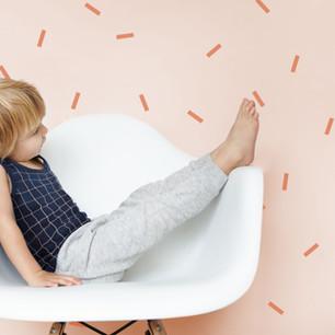 Boy Sitting on a Chair