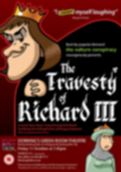 The Travesty of Richard III Ian Renshaw actor prop maker designer illustrator musician