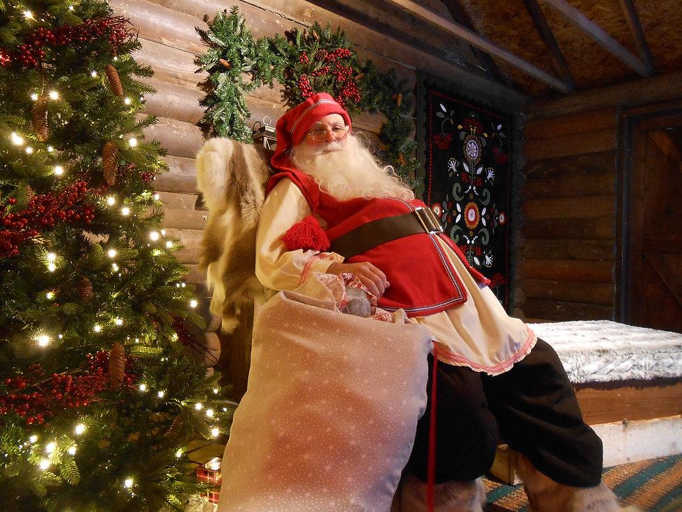 Father Christmas at Lapland UK Ian Renshaw actor prop maker designer musician