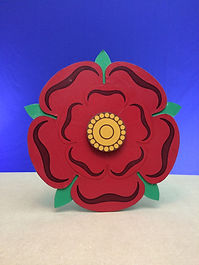 Lancaster Rose The Travesty of Richard III Comedy Shakespeare Ian Renshaw actor prop maker designer illustrator musician
