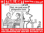 Starlight cartoon Ian Renshaw actor prop maker designer illustrator musician