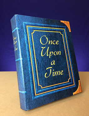 once upon a time book Theatre design poster flyer pantomime props logo branding Ian Renshaw actor prop maker designer illustrator musician