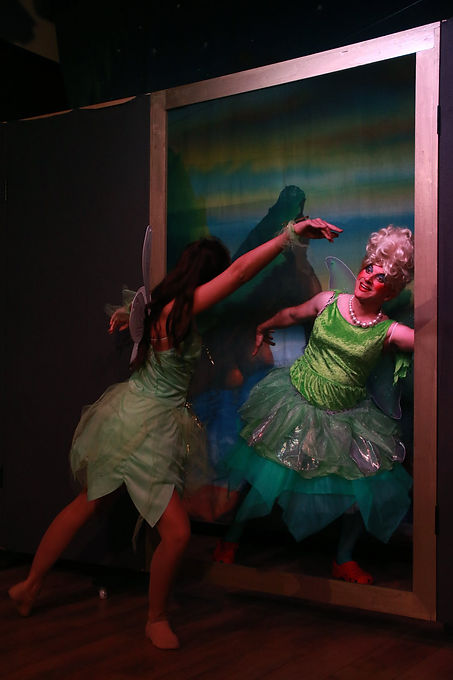Ian Renshaw pantomime dame actor prop maker designer