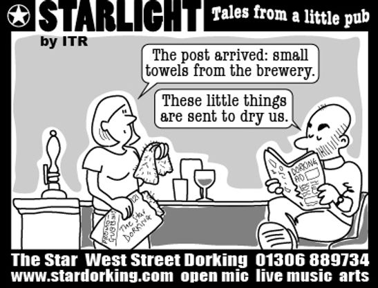 Starlight cartoons Ian Renshaw actor prop maker designer illustrator musician