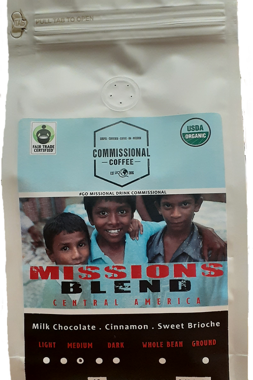 "1 LB ""Missions Blend"" Central America"