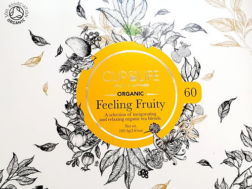 """Cup of Life Organic """"Fruit Tea Blends"""" Collection"""