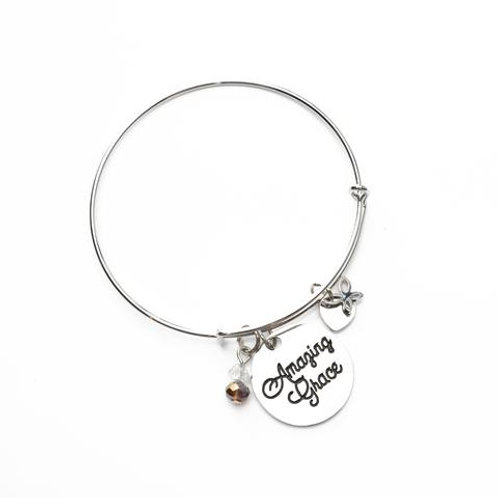 Amazing Grace Bangle Bracelet