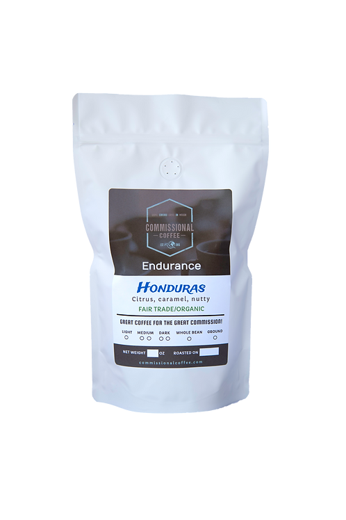 "1 LB Honduras ""Endurance"" Organic Fair Trade"