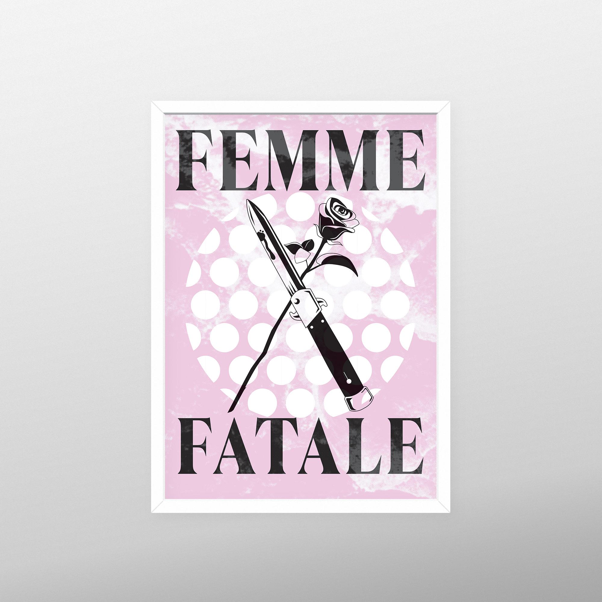 Femme Fatale print