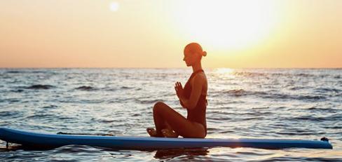 Cours de SUP yogalates Cassis