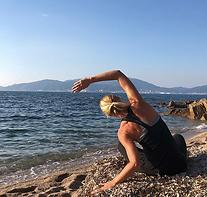 pilates sur la plage Cassis La Ciotat