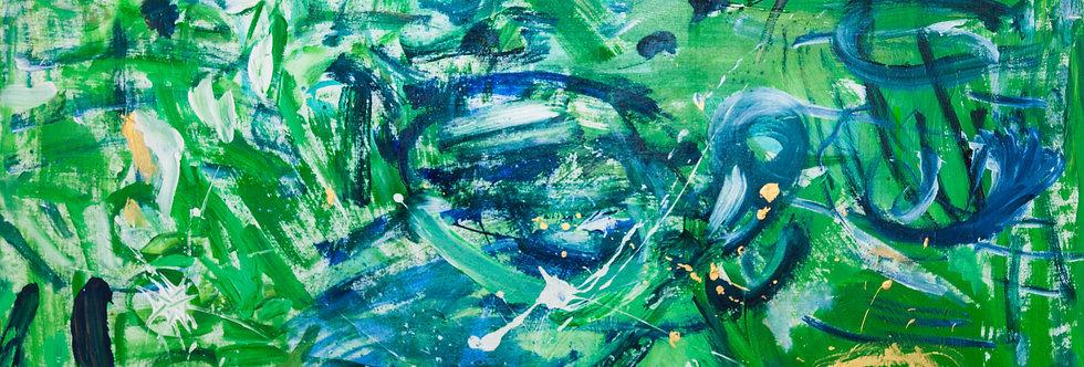De vert et d'eau