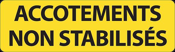 KM9 Accotements non stabilisés