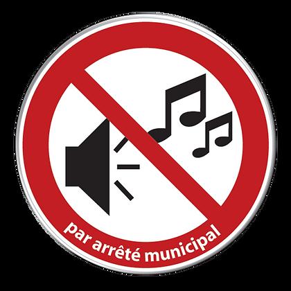 Musique forte interdite