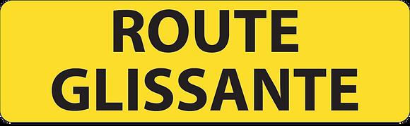 KM9 Route glissante
