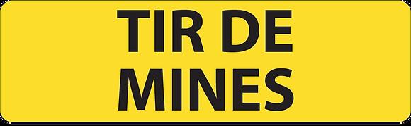 KM9 Tir de mines