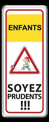 Enfants soyez prudents !!! vertical