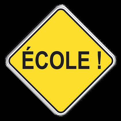 Ecole !