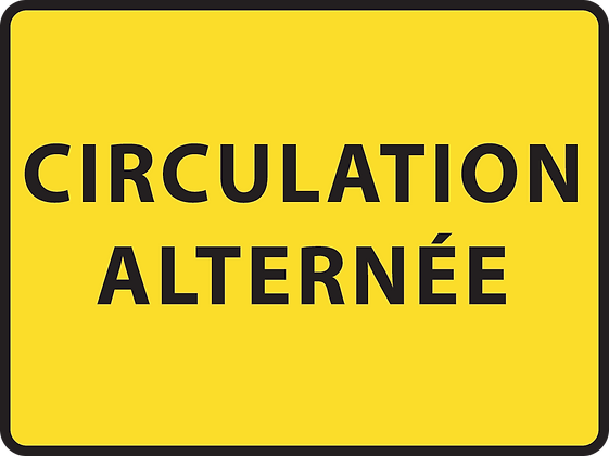 KC1 Circulation alternée