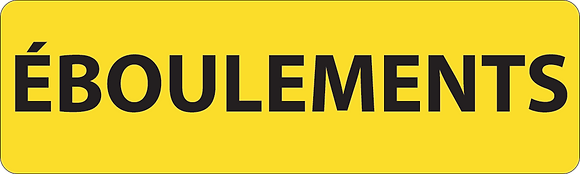 KM9 Eboulements