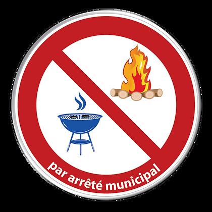 BBQ et Feux interdits