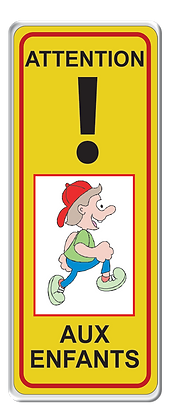 Attention ! aux enfants vertical