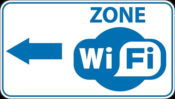 Wifi fg 20 x 50 cm