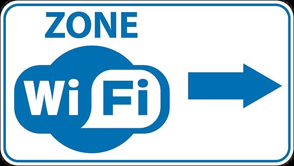 Wifi fd 20 x 50 cm