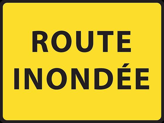 KC1 Route inondée