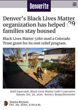 BLM5280s Displacement Defense Fund has helped 41 familes stay housed