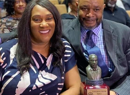 Dr. Martin Luther King  Legacy Award - Omar Montgomery