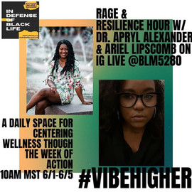 June 2020: Rage & Resilience Hour