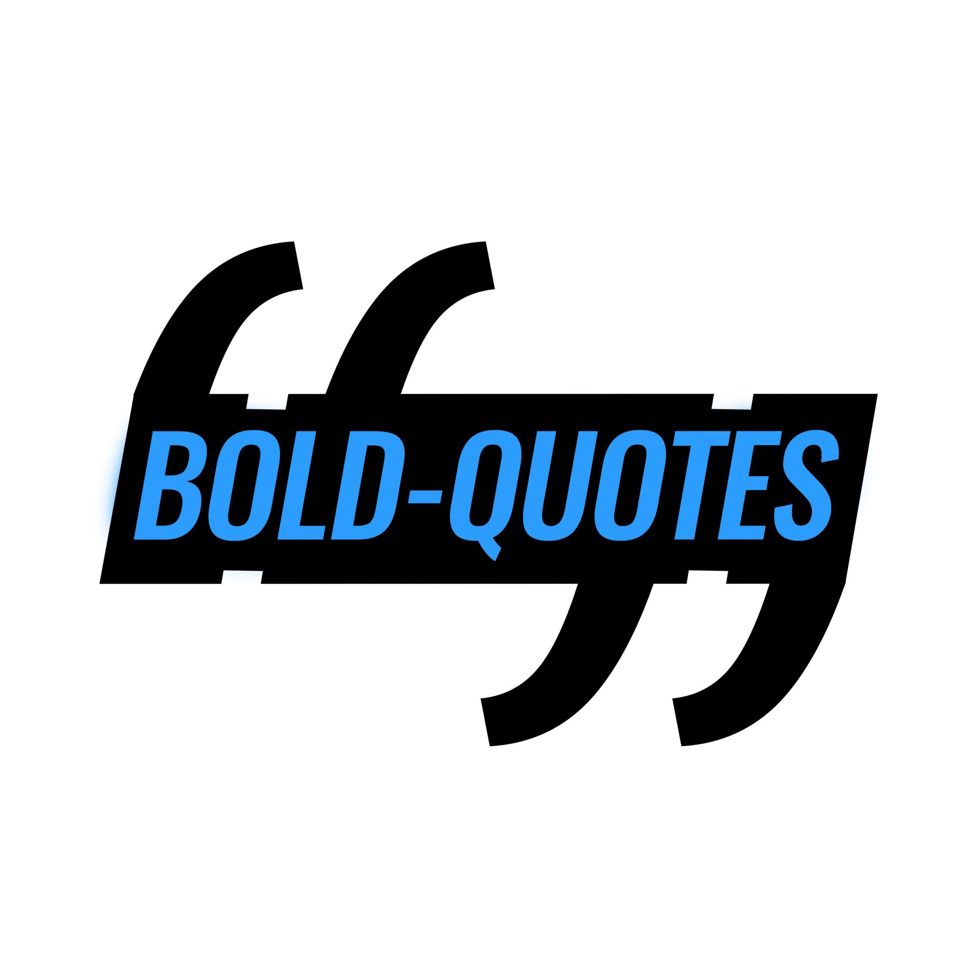 Bold Quotes Logo final - Black and Blue.