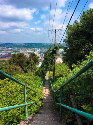 City Steps on the South Side Slopes