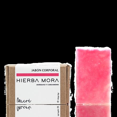 HIERBA MORA -jabón corporal-