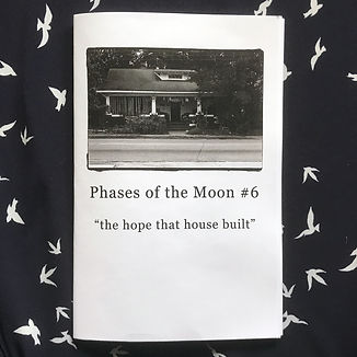 Phases of the Moon #6 (zine)