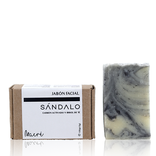 SÁNDALO -jabón facial-