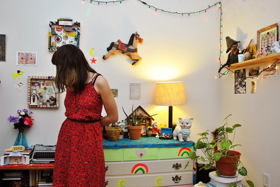 Dena in her room