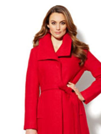 Bouce shawl collar wool coat.png