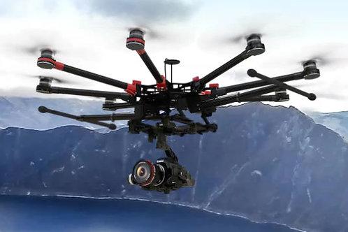 Drone surveys and survelliance