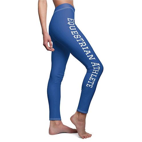 Equestrian Athletes Women's Cut & Sew Casual Leggings