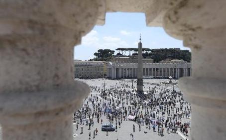 O Papa: penso em Santa Sofia e fico muito triste