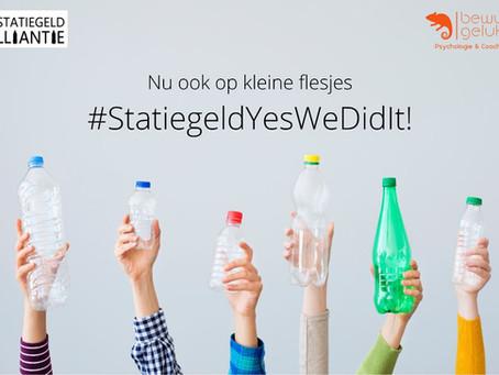 Statiegeld Yes We Did It!