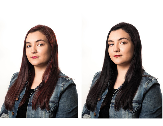 I changed my hair color from red to black after getting headshots done and wanted to have accurate shots for auditions