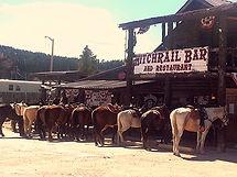 hitchrail restaurant & saloon