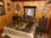 Camp Custer Log Cabins, themed bedrooms, Sky View Cabin