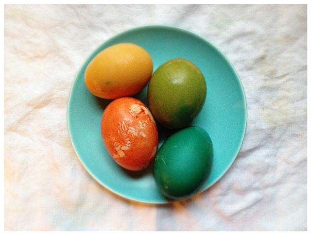 DIY Egg Dye