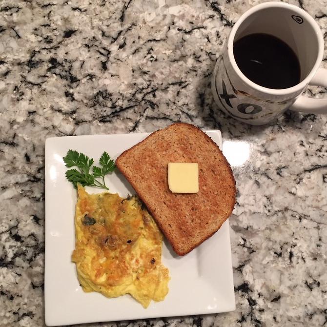 Leek Omelet